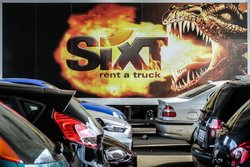 Sixt (see more at series Billboards-Advertising)