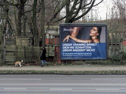 "Fitness First (see more at Series ""Billboards-Advertising"")"