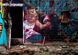Slaughterman (see more at urban - Streetart)