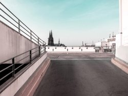 Car Park and Cologne Cathedral