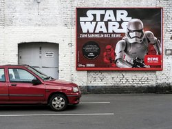 "Star Wars (see more at Series ""Billboards-Advertising"")"