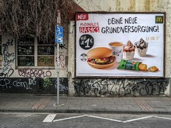 "Grundversorgung (see more at Series ""Billboards-Advertising"")"
