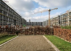 Neubau Clouth-Quartier 6 (see more at my series Construction Sites)