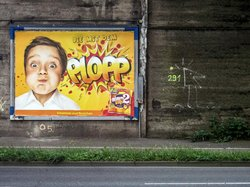 "Plopp (see more at Series ""Billboards-Advertising"")"